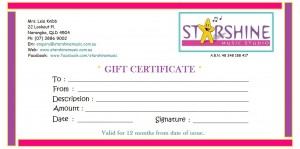 Gift Certificate SMS (2014) - 12 months
